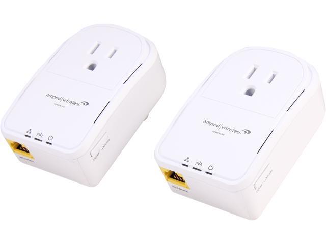 PLA2 Amped Wireless Powerline Nano AV500 1-Port Network Adapter Kit
