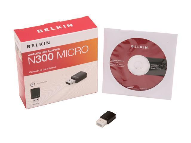 BELKIN N300 MICRO USB WIRELESS ADAPTER WINDOWS 7 DRIVER