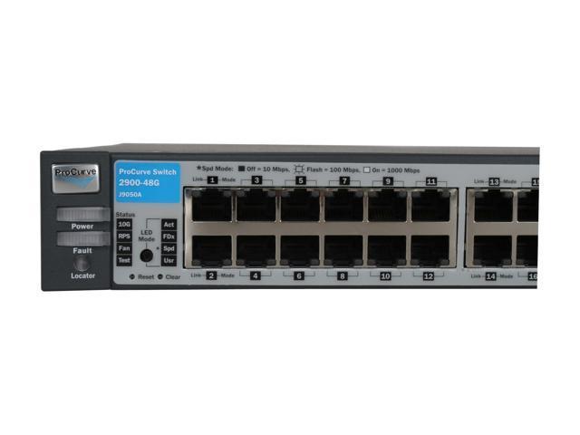 HP Procurve J9050A 2900-48G 48 port Gig swith with Dual CX4 10GB uplink NO RACK