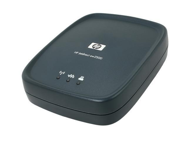 HPE J8021A Jetdirect ew2500 802 11b/g Wireless Print Server - Newegg com