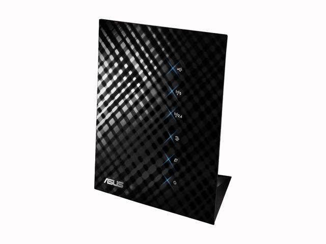 ASUS RT-N56U Wireless Router Dual Band N600 Multimedia Ultra Slim Gigabit  802 11a/b/g/n support USB Storage, Print and Media Server (top performance