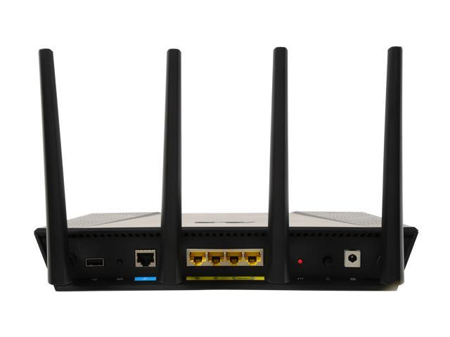 Asus Certified RT-AC87U Wireless-AC2400 Dual-band Gigabit Router -  Newegg com
