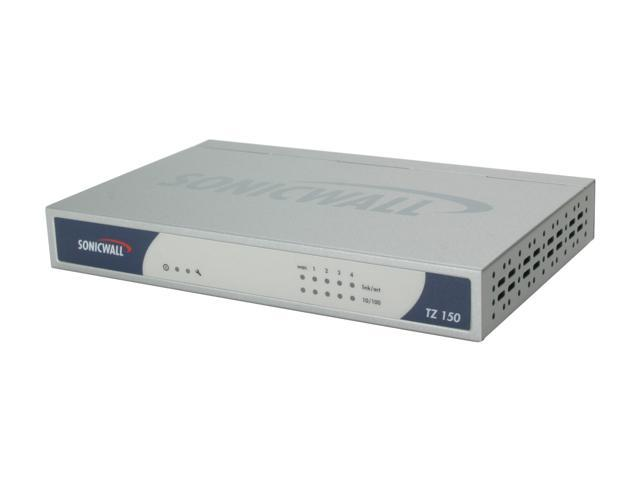 SonicWALL 01-SSC-5810 TZ 150 Wired 4-port VPN Firewall