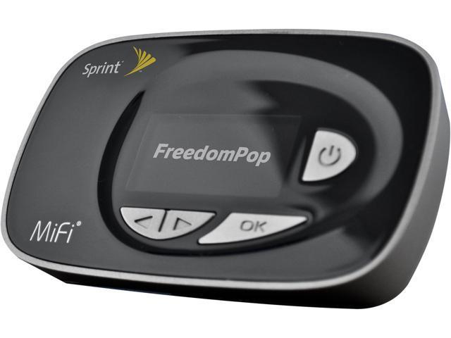 free lte internet with lte hotspot mifi 500 freedompop certified rh newegg com Sprint MiFi Set Up Sprint Hotspot