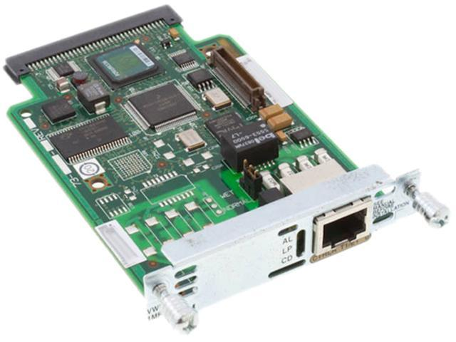 Cisco VWIC-1MFT-T1 Card RJ-48 Multi-Flex T1 Trunk Card