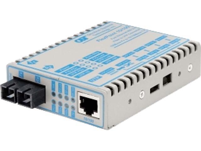 Omnitron 4341-0 100Mbps Wired Fast Ethernet Transceiver - Newegg.com