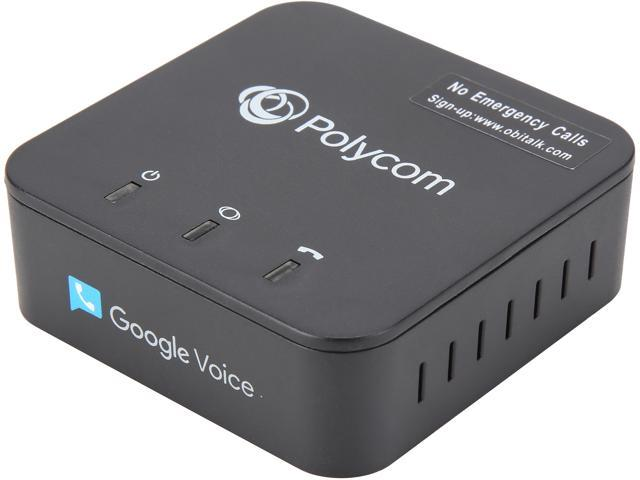 Polycom OBi200 1-Port VoIP Phone Adapter with Google Voice and Fax Support for Home and SOHO Phone Service