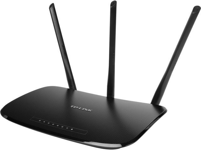 TP-LINK TL-WR940N Wireless N450 Home Router, 450 Mbps, 3 External Antennas,  IP QoS, WPS Button - Newegg com
