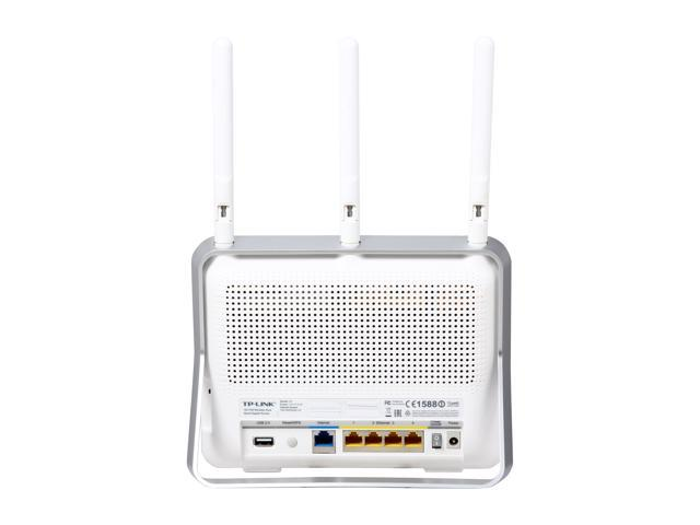 TP-Link Certified - Archer C8 AC1750 Wireless Dual Band Gigabit Router -  Newegg com