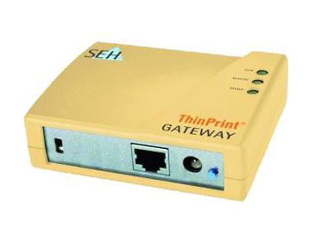 SEH M03852 ThinPrint Gateway TPG60 Print Server - Newegg com