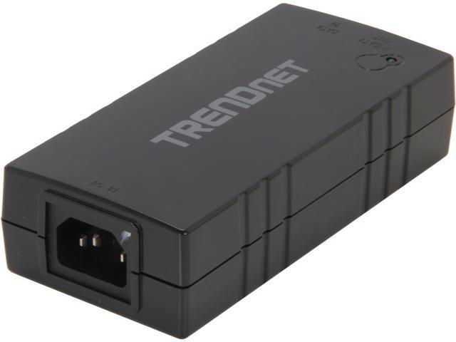TRENDnet TPE-115GI Gigabit PoE+ Injector - Newegg com