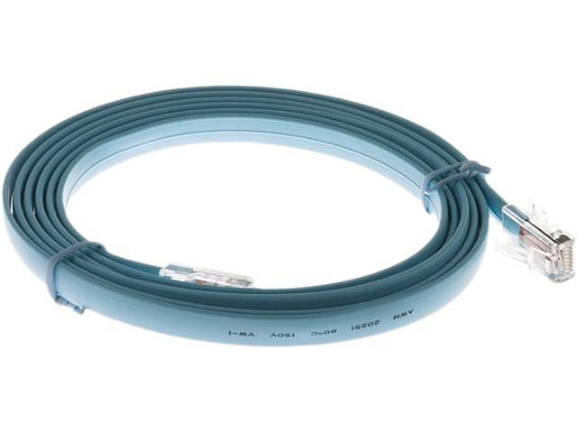 CISCO CAB-CON-C4K-RJ45= 6 ft. Console Cable with RJ-45-to-RJ-45 ...