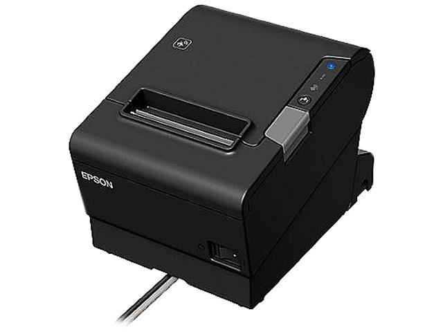 Epson OmniLink TM-T88VI Single-station Thermal Receipt Printer - Black  C31CE94061 - Newegg com