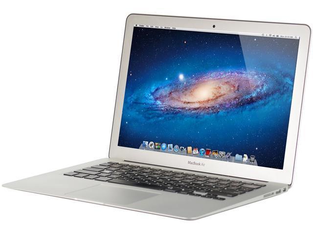 Refurbished: Apple Grade C Laptop MacBook Air RRMD761LL/A-C Intel Core i5  4250U (1 30 GHz) 4 GB Memory 256 GB SSD Intel HD Graphics 5000 13 3
