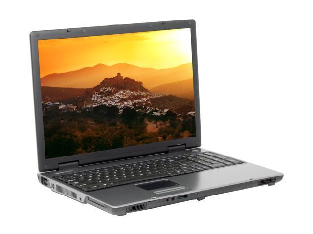 Gateway Laptop MX8734 - RA Intel Pentium dual-core T2060 (1 60 GHz) 1 GB  Memory 160 GB HDD Intel GMA950 17 1