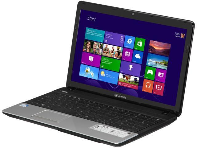 gateway laptop wont boot up black screen