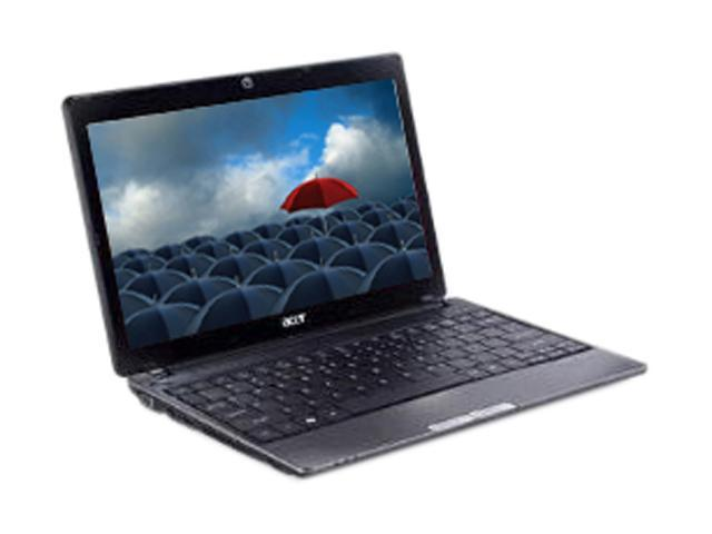 "Acer Aspire One AO721-3070 Mesh-black AMD Athlon II Neo K125(1.70 GHz) 11.6"" 2GB Memory 160GB HDD Netbook"