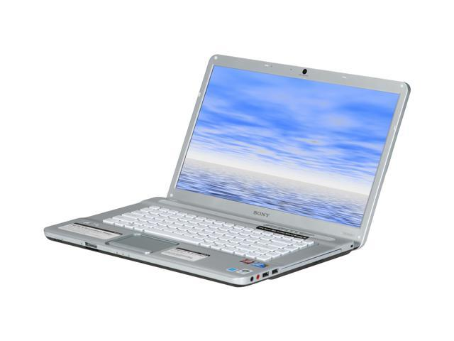 SONY Laptop VAIO NW Series VGN-NW130J/S Intel Core 2 Duo T6500 (2 10 GHz) 4  GB Memory 320 GB HDD ATI Mobility Radeon HD 4570 15 5