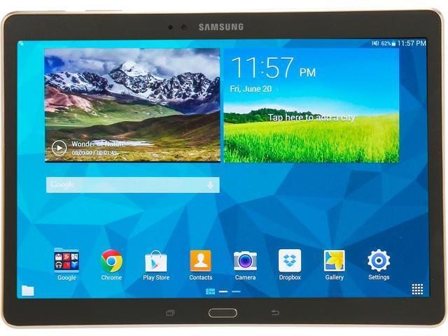 SAMSUNG Galaxy Tab S SM-T800NTSAXAR 10.5 - Exynos 5 Octa