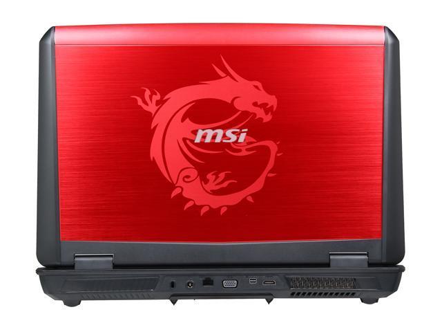 MSI GT70 2OD-039US Gaming Laptop Intel Core i7-4700MQ 2 4GHz 17 3
