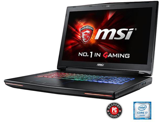 MSI GT Series GT72 Dominator Pro G-034 G-Sync Gaming Laptop 6th Generation  Intel Core i7 6700HQ (2 60 GHz) 24 GB Memory 1 TB HDD 256 GB SSD NVIDIA