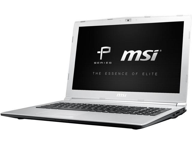 MSI PL62 7RC-001 Gaming Laptop Intel Core i7-7700HQ 2 8 GHz 15 6