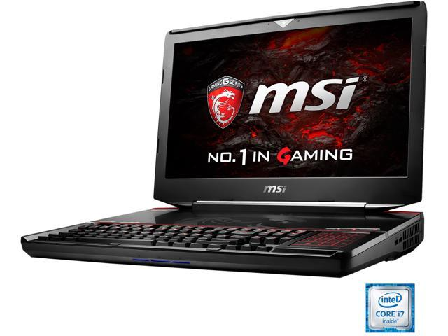 "MSI 18.4"" GT83VR TITAN SLI-023 Intel Core i7 6820HK (2.70 GHz) NVIDIA GeForce GTX 1070 SLI VR Ready 64 GB Memory 512 GB SSD (PCIE Gen3x4) 1 TB HDD Windows 10 Home 64-Bit Gaming Laptop"