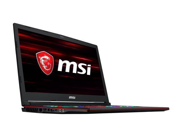 MSI GL63 9SEK-473 Gaming Laptop Intel Core i7-9750H 2 60 GHz 15 6