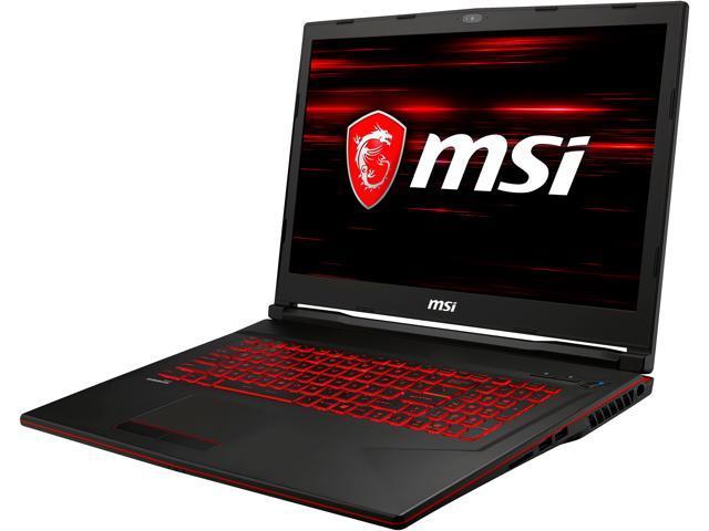 MSI GL73 9SE-224CA Gaming Laptop Intel Core i7-9750H 2 60 GHz 17 3