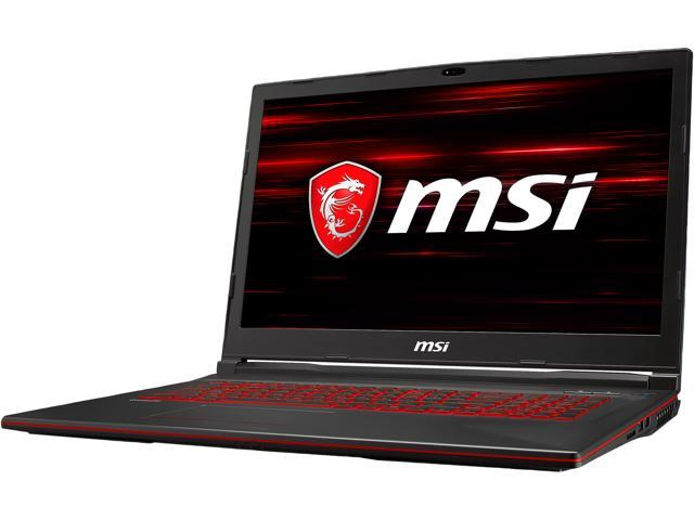 "MSI GL Series GL73 9RCX-029 17.3"" 60 Hz Intel Core i7 9th Gen 9750H (2.60 GHz) NVIDIA GeForce GTX 1050 Ti 8 GB Memory 256 GB NVMe SSD Windows 10 Home 64-bit Gaming Laptop"