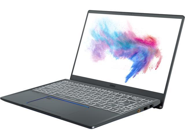 """MSI Laptop Prestige 14 A10SC-020 Intel Core i5 10th Gen 10210U (1.60 GHz) 16 GB Memory 512 GB NVMe SSD NVIDIA GeForce GTX 1650 Max-Q 14.0"""" Windows 10 Pro 64-bit"""