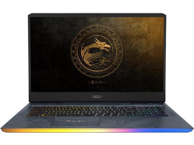 "MSI GE Series GE76 DRAGON TIAMAT 11UG-283 17.3"" 360 Hz IPS Intel Core i9 11th Gen 11980HK (2.60 GHz) NVIDIA GeForce RTX 3070 Laptop GPU 32 GB Memory 1 TB NVMe SSD Windows 10 Home 64-bit Gaming Laptop"