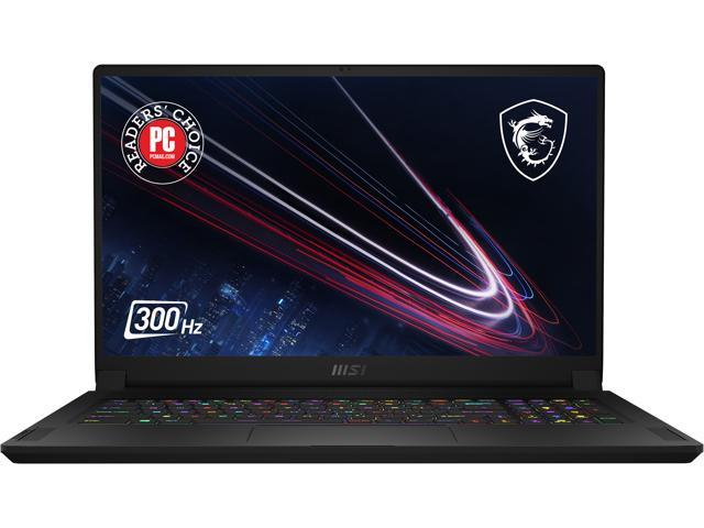 "MSI GS Series GS76 Stealth 11UH-029 17.3"" 300 Hz IPS Intel Core i7 11th Gen 11800H (2.30 GHz) NVIDIA GeForce RTX 3080 Laptop GPU 32 GB Memory 1 TB NVMe SSD Windows 10 Pro 64-bit Gaming Laptop"