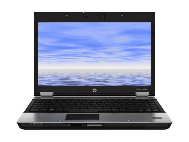 HP Laptop EliteBook 8440p (WJ681AW#ABA) Intel Core i5 1st Gen 520M (2 40  GHz) 2 GB Memory 250 GB HDD Intel HD Graphics 14 0