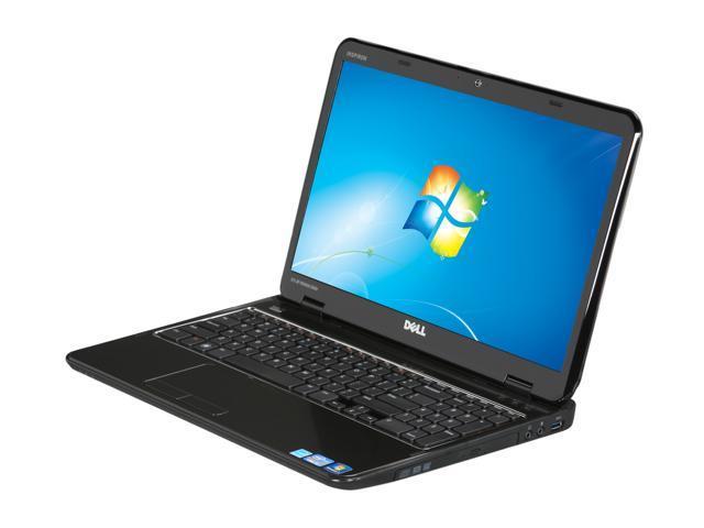 DELL Laptop Inspiron 15R (N5110) Intel Core i3 2nd Gen 2310M (2 10 GHz) 4  GB Memory 500 GB HDD Intel HD Graphics 3000 15 6