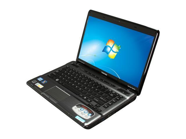 TOSHIBA Laptop Satellite P745-S4160 Intel Core i3 2nd Gen 2350M (2 30 GHz)  6 GB Memory 640 GB HDD Intel HD Graphics 14 0