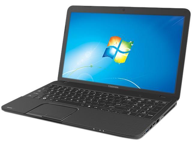 Refurbished: TOSHIBA Laptop Satellite C855D-S5229 AMD E1-Series E1-1200  (1 4 GHz) 4 GB Memory 500 GB HDD AMD Radeon HD 7310 15 6