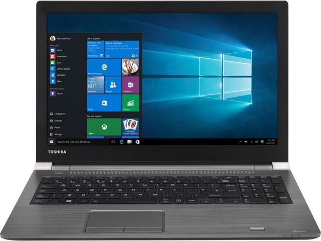 TOSHIBA Laptop Tecra A50-E PS595U-1P401K Intel Core i7 8th Gen 8550U (1 80  GHz) 8 GB Memory 256 GB SSD Intel UHD Graphics 620 15 6