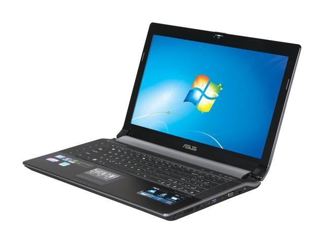 ASUS Laptop N73JN-X1 Intel Core i5 1st Gen 450M (2 40 GHz) 4 GB Memory 500  GB HDD NVIDIA GeForce GT 335M 17 3