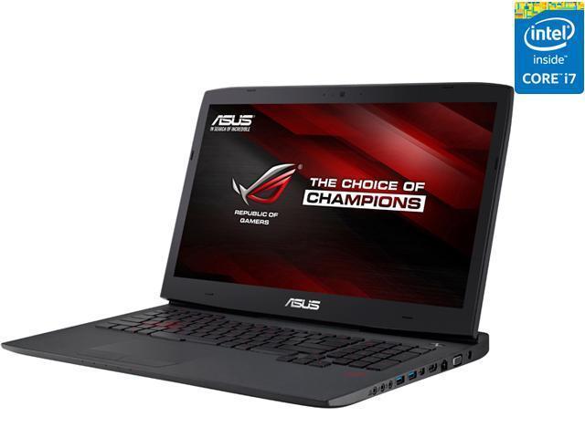 Asus Rog G751jt Db73 G Sync Gaming Laptop 4th Generation Intel Core I7 4720hq 2 60 Ghz 16 Gb Memory 1 Tb Hdd 256 Gb Ssd Nvidia Geforce Gtx 970m 3 Gb