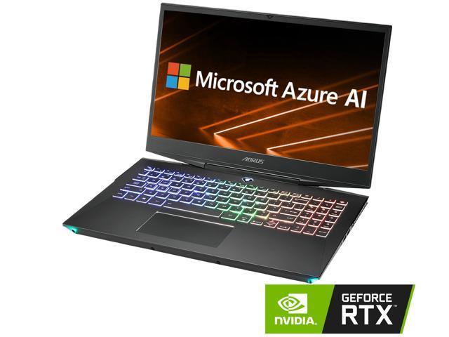 AORUS 15-X9-RT4AD Core i7-8750H NVIDIA GeForce RTX 2070 16 GB Memory 512 GB  Intel SSD 1 TB HDD Win10 15 6