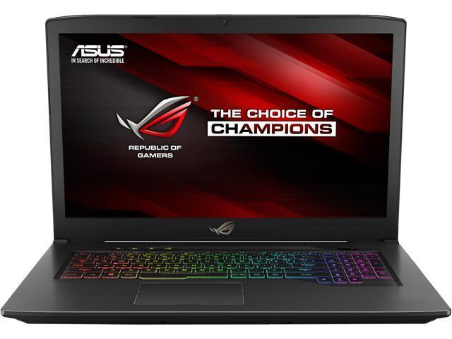 "Asus ROG Strix GL703VM SCAR Edition (FPS) Gaming Laptop17 3"" 120Hz , GTX  1060 6GB, Core i7-7700HQ 2 8 GHz CPU, 16GB DDR4 RAM, NVMe 256GB PCIe SSD +"
