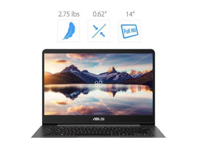 ASUS ZenBook UX430UA-DH74 Ultra-Slim Laptop 14