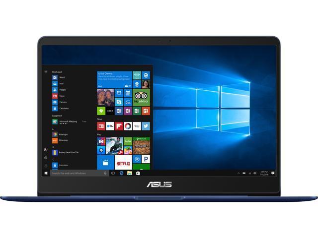 ASUS ZenBook14 Intel Core i7-8550U (up to 4 00 GHz), 8 GB LPDDR3, 256 GB  SSD, NVIDIA GeForce MX150, Windows 10, Backlit Keyboard, Ultra-Slim 14 inch