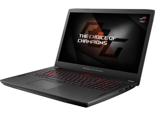 ASUS ROG STRIX AMD Gaming Laptop, Ryzen 7 1700, Radeon RX 580 4 GB, 17 3