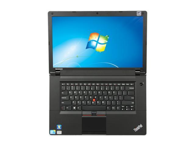 ThinkPad Laptop Edge 031925U Intel Core i3 1st Gen 370M (2 40 GHz) 2 GB  Memory 250 GB HDD Intel HD Graphics 15 6