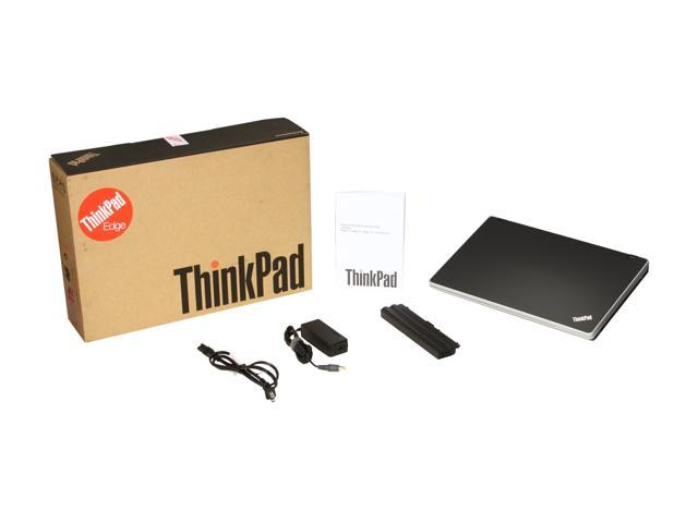 ThinkPad Laptop Edge 031925U Intel Core i3 1st Gen 370M (2 40 GHz) 2 GB  Memory 250 GB HDD Intel HD Graphics 15 6