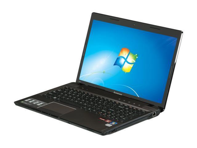 Lenovo Laptop IdeaPad Z575 (12992PU) AMD A6-Series A6-3420M (1 5 GHz) 6 GB  Memory 500 GB HDD AMD Radeon HD 6650M 15 6
