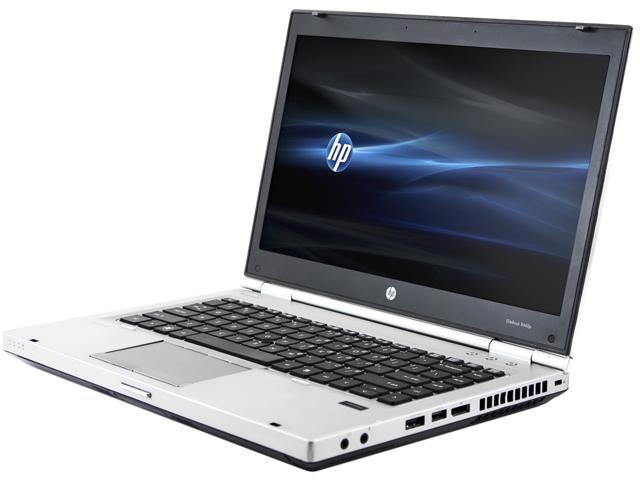 HP Laptop EliteBook 8460P Intel Core i5 2nd Gen 2540M (2 60 GHz) 4 GB  Memory 250 GB HDD Intel HD Graphics 3000 14 0