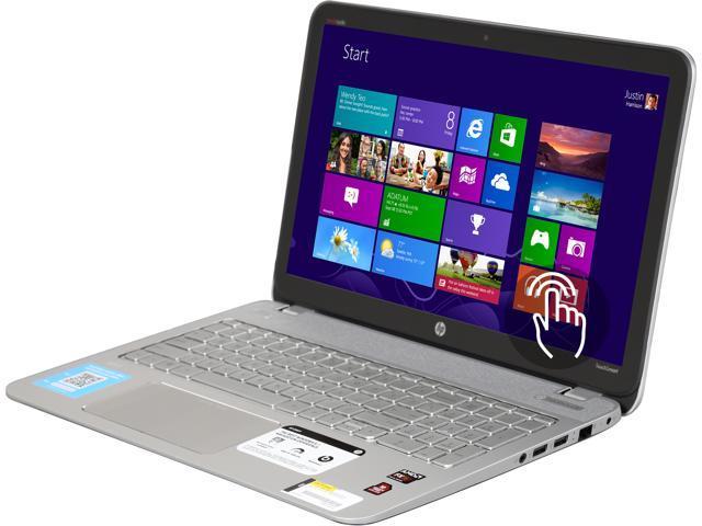 HP Laptop ENVY TouchSmart m6-n113dx AMD FX-Series FX-7500 (2 10GHz) 6GB  Memory 750GB HDD AMD Radeon R7 Series 15 6
